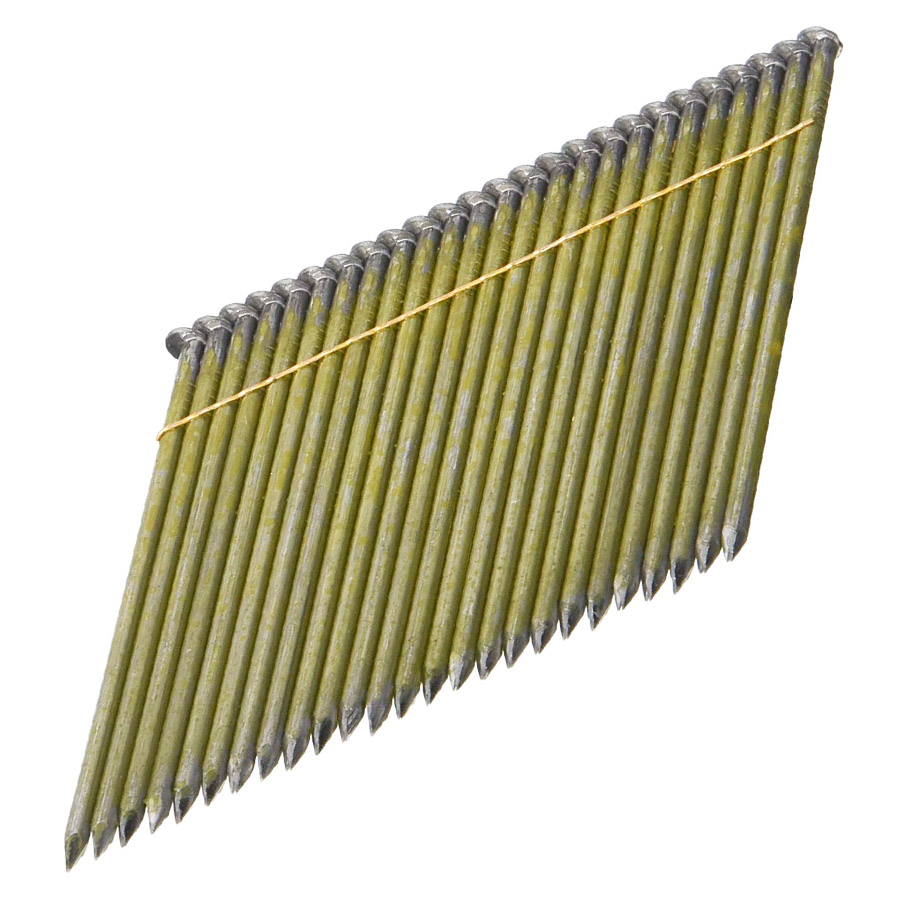 28 Degree 3-1/2 Inch x 0.131 Inch Wire Weld Framing Nails