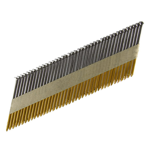 34 Degree Bright Smooth Shank 3 Inch Collated Framing Nails