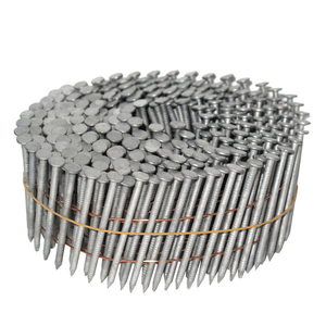 15 Degree Hot Dip Galvanized Ring Shank Wire Collated Coil Framing Nails