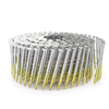 15 Degree Galvanized Screw Shank Coil Siding Nails 2-1/2 Inch X .092